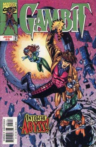 Gambit #5 Comic Books - Covers, Scans, Photos  in Gambit Comic Books - Covers, Scans, Gallery