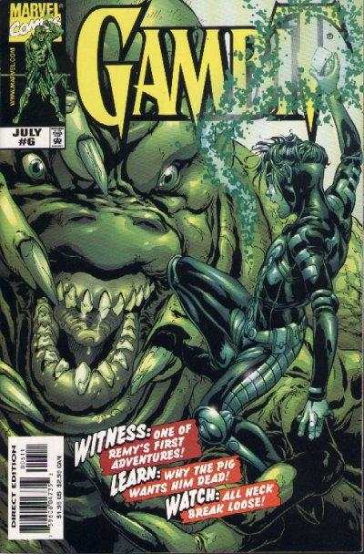Gambit #6 comic books for sale