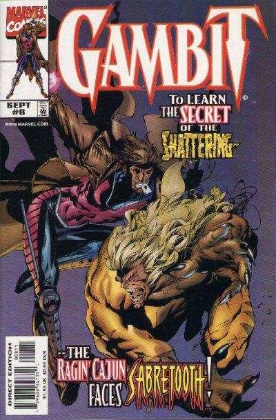 Gambit #8 Comic Books - Covers, Scans, Photos  in Gambit Comic Books - Covers, Scans, Gallery