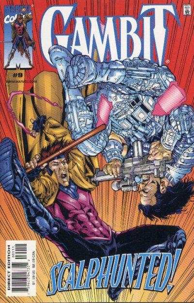 Gambit #9 comic books - cover scans photos Gambit #9 comic books - covers, picture gallery