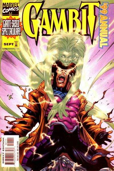 Gambit #1999 comic books - cover scans photos Gambit #1999 comic books - covers, picture gallery