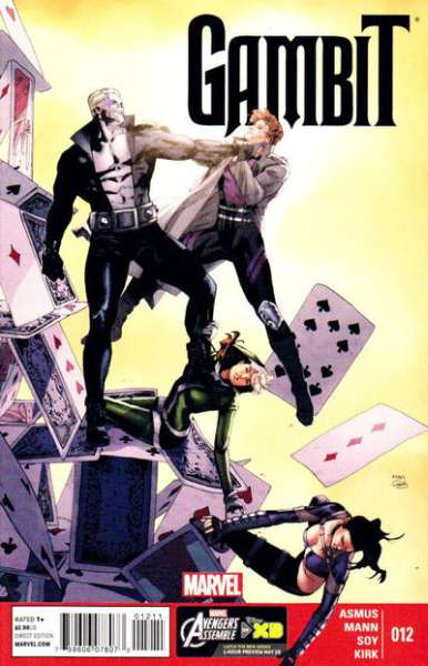 Gambit #12 comic books - cover scans photos Gambit #12 comic books - covers, picture gallery