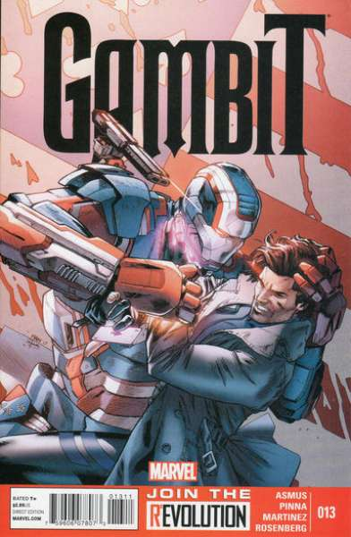 Gambit #13 comic books - cover scans photos Gambit #13 comic books - covers, picture gallery