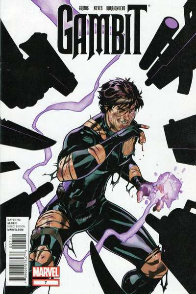 Gambit #7 comic books - cover scans photos Gambit #7 comic books - covers, picture gallery