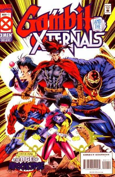 Gambit and the X-Ternals #1 comic books - cover scans photos Gambit and the X-Ternals #1 comic books - covers, picture gallery