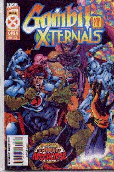 Gambit and the X-Ternals #3 comic books - cover scans photos Gambit and the X-Ternals #3 comic books - covers, picture gallery