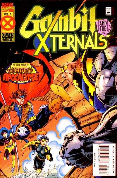 Gambit and the X-Ternals #4 comic books - cover scans photos Gambit and the X-Ternals #4 comic books - covers, picture gallery