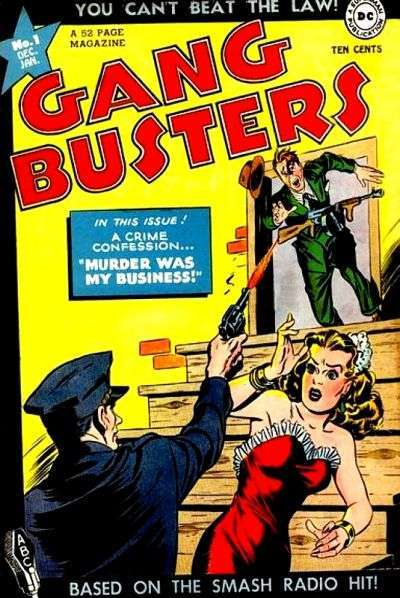 Gang Busters comic books
