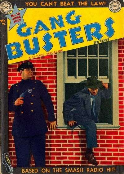 Gang Busters #10 comic books for sale
