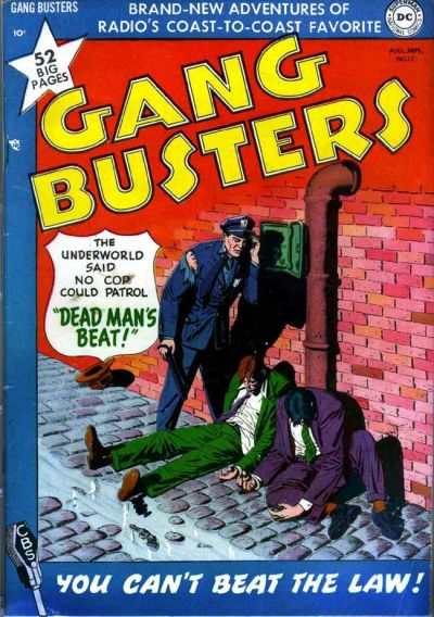 Gang Busters #17 comic books for sale