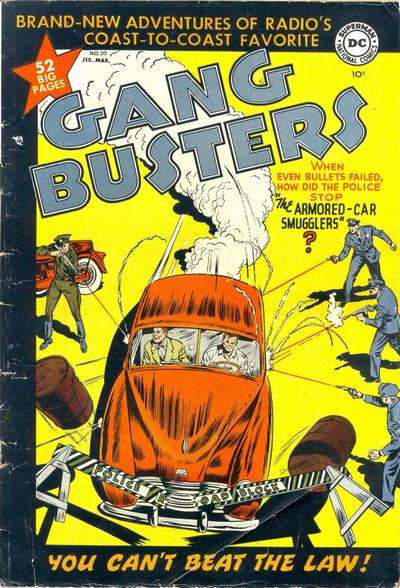 Gang Busters #20 Comic Books - Covers, Scans, Photos  in Gang Busters Comic Books - Covers, Scans, Gallery