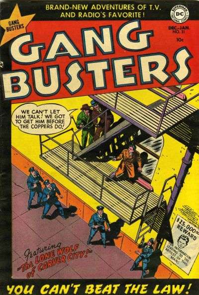 Gang Busters #31 comic books for sale