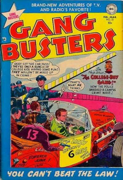 Gang Busters #32 comic books for sale
