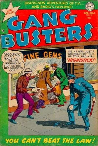 Gang Busters #33 comic books for sale