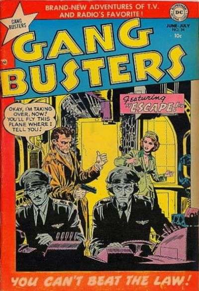 Gang Busters #34 comic books for sale
