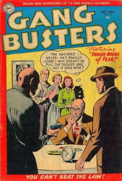Gang Busters #42 comic books - cover scans photos Gang Busters #42 comic books - covers, picture gallery