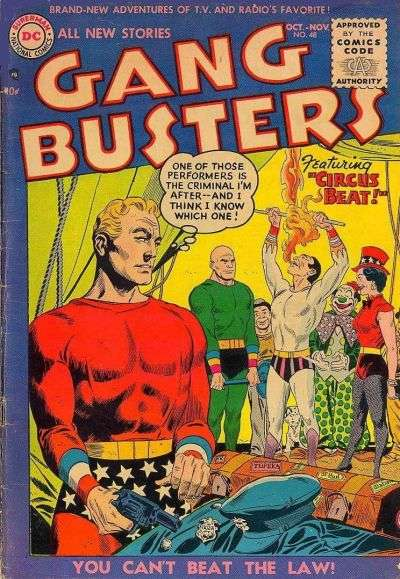 Gang Busters #48 comic books for sale