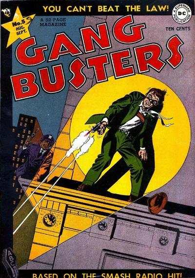 Gang Busters #5 comic books for sale