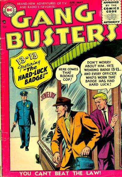 Gang Busters #51 comic books for sale