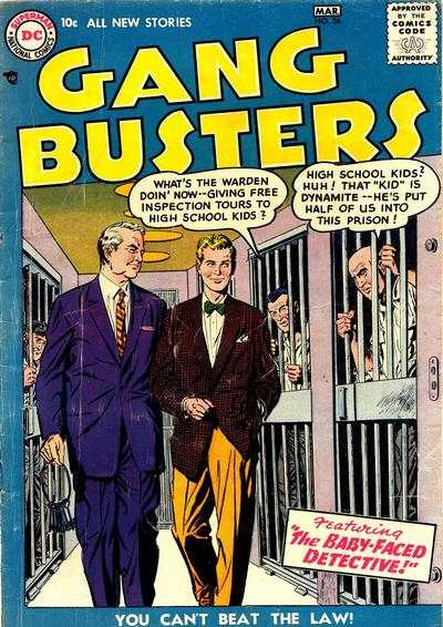 Gang Busters #56 comic books for sale