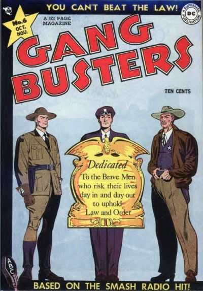 Gang Busters #6 comic books for sale