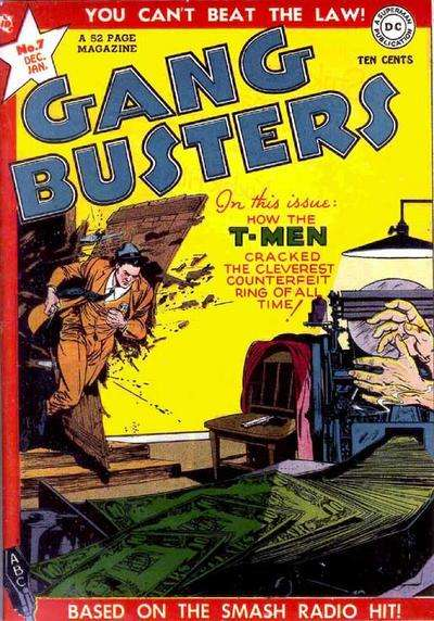 Gang Busters #7 comic books for sale