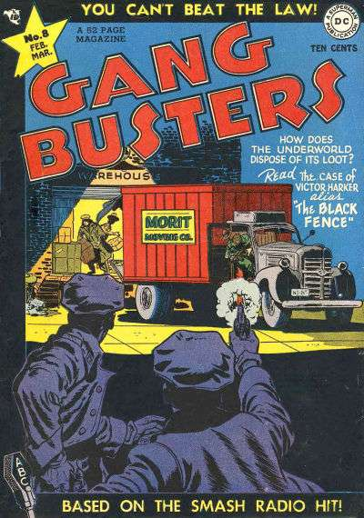Gang Busters #8 comic books - cover scans photos Gang Busters #8 comic books - covers, picture gallery