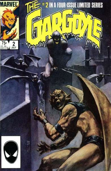Gargoyle #2 comic books - cover scans photos Gargoyle #2 comic books - covers, picture gallery