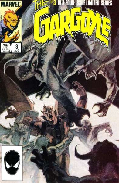 Gargoyle #3 Comic Books - Covers, Scans, Photos  in Gargoyle Comic Books - Covers, Scans, Gallery