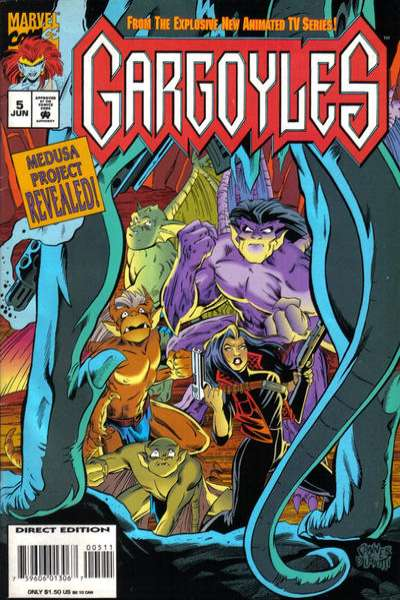 Gargoyles #5 Comic Books - Covers, Scans, Photos  in Gargoyles Comic Books - Covers, Scans, Gallery