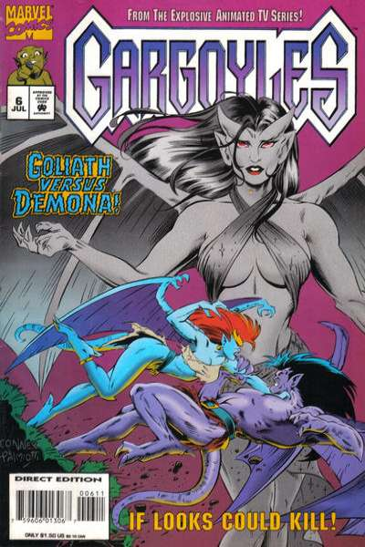 Gargoyles #6 Comic Books - Covers, Scans, Photos  in Gargoyles Comic Books - Covers, Scans, Gallery