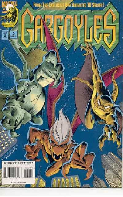 Gargoyles #2 comic books for sale