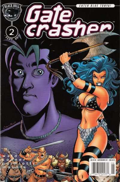 Gatecrasher #2 comic books - cover scans photos Gatecrasher #2 comic books - covers, picture gallery