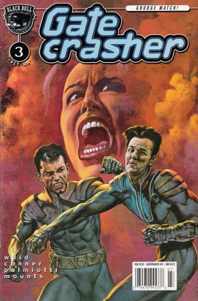 Gatecrasher #3 comic books - cover scans photos Gatecrasher #3 comic books - covers, picture gallery
