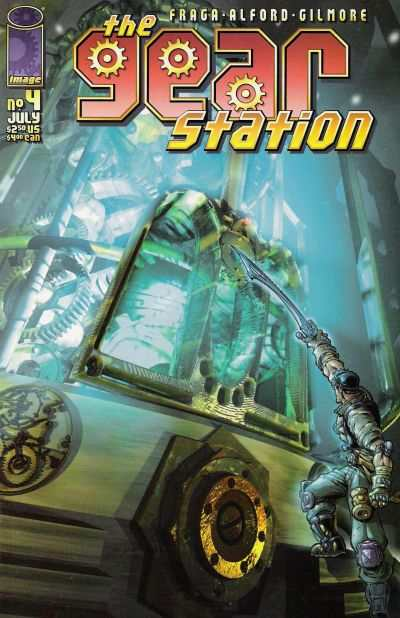 Gear Station #4 comic books - cover scans photos Gear Station #4 comic books - covers, picture gallery