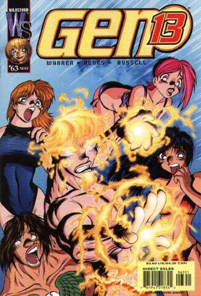 Gen 13 #63 Comic Books - Covers, Scans, Photos  in Gen 13 Comic Books - Covers, Scans, Gallery