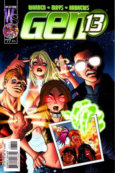 Gen 13 #77 Comic Books - Covers, Scans, Photos  in Gen 13 Comic Books - Covers, Scans, Gallery