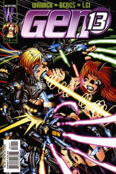 Gen 13 #74 Comic Books - Covers, Scans, Photos  in Gen 13 Comic Books - Covers, Scans, Gallery