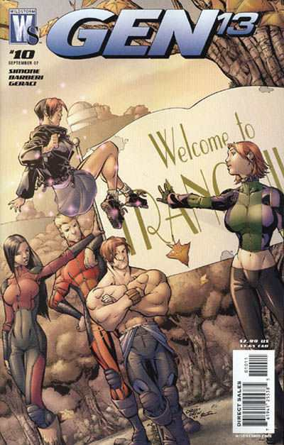 Gen 13 #10 comic books - cover scans photos Gen 13 #10 comic books - covers, picture gallery