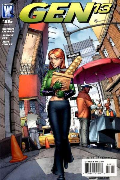 Gen 13 #16 comic books - cover scans photos Gen 13 #16 comic books - covers, picture gallery