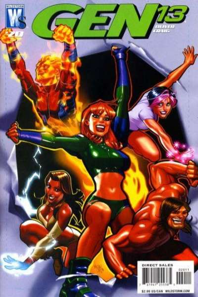 Gen 13 #20 comic books - cover scans photos Gen 13 #20 comic books - covers, picture gallery
