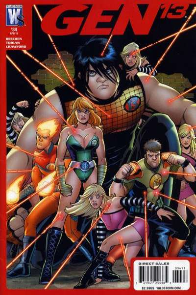 Gen 13 #34 Comic Books - Covers, Scans, Photos  in Gen 13 Comic Books - Covers, Scans, Gallery