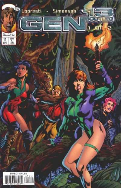 Gen 13 Bootleg #11 comic books - cover scans photos Gen 13 Bootleg #11 comic books - covers, picture gallery