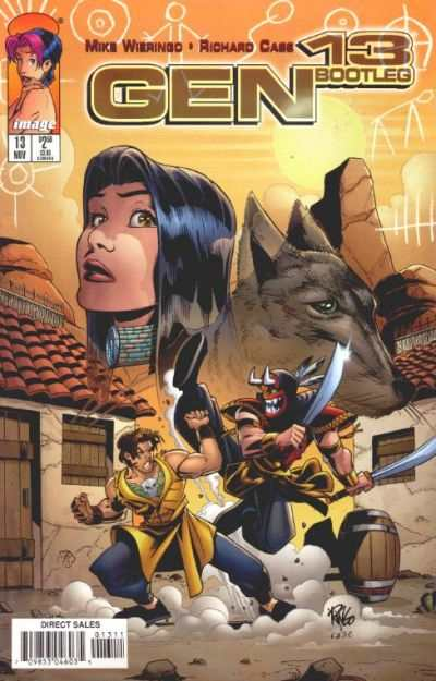 Gen 13 Bootleg #13 comic books - cover scans photos Gen 13 Bootleg #13 comic books - covers, picture gallery