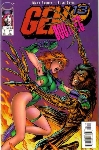 Gen 13 Bootleg #2 comic books for sale