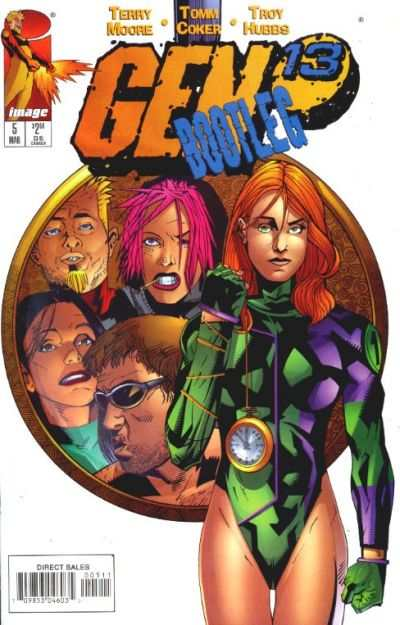 Gen 13 Bootleg #5 comic books - cover scans photos Gen 13 Bootleg #5 comic books - covers, picture gallery
