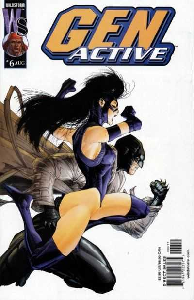 Gen Active #6 Comic Books - Covers, Scans, Photos  in Gen Active Comic Books - Covers, Scans, Gallery