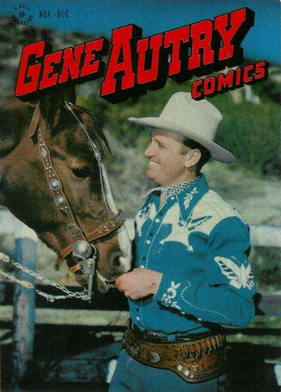 Gene Autry Comics #10 comic books - cover scans photos Gene Autry Comics #10 comic books - covers, picture gallery