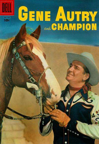 Gene Autry Comics #107 comic books for sale