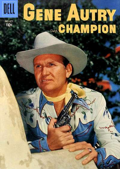 Gene Autry Comics #108 comic books for sale